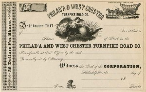 Philad'A & West Chester Turnpike Road Co.