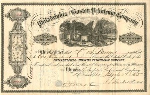 Philadelphia and Boston Petroleum Company