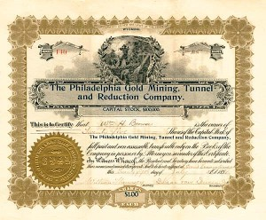 Philadelphia Gold Mining, Tunnel & Reduction Company