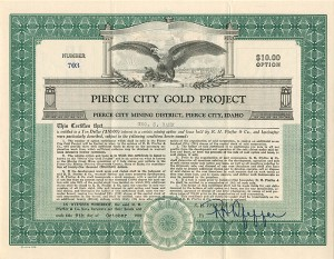 Pierce City Gold Project
