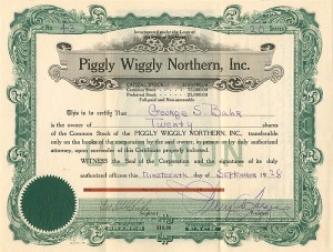 Piggly Wiggly Northern, Inc.
