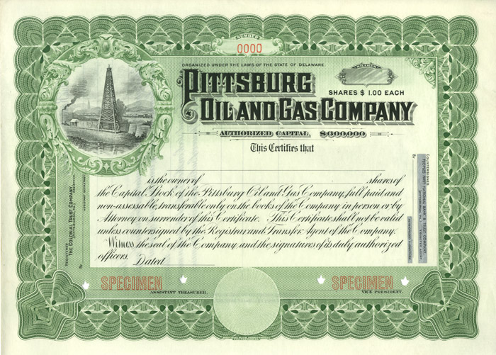 Pittsburg Oil and Gas Company