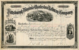 Pittsburgh, Virginia and Charleston Railway Company - SOLD