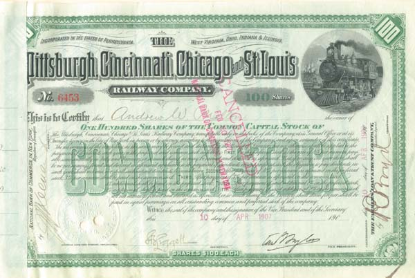 Pittsburgh, Cincinnati, Chicago and St. Louis Railway Company