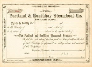 Portland & Boothbay Steamboat Company