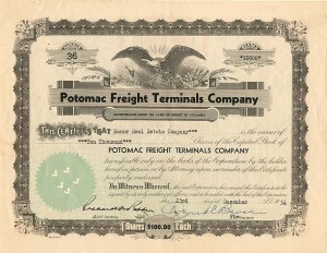 Potomac Freight Terminals Company