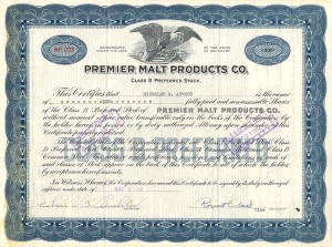 Premier Malt Products Co.