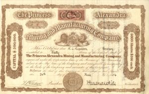 Princess Alexandra Mining and Manufacturing Company