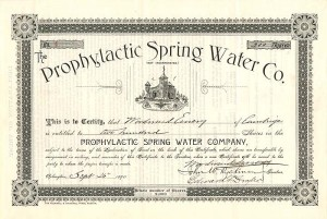 Prophylactic Spring Water Co. - SOLD