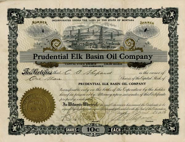 Prudential Elk Basin Oil Company