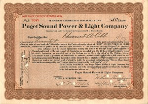 Puget Sound Power & Light Company