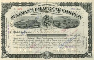 Pullman's Palace Car Company - SOLD
