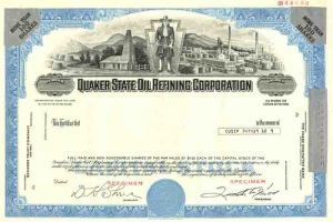 Quaker State Oil Refining Corporation - SOLD