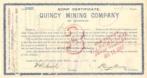 Quincy Mining Company of Michigan