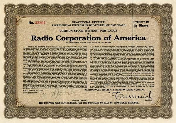 Radio Corporation of America