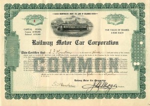 Railway Motor Car Corporation