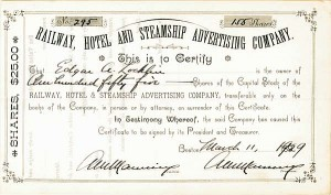 Railway, Hotel & Steamship Advertising Company