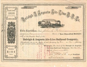 Raleigh & Augusta Air-Line Railroad Company