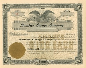 Rambler Garage Company - SOLD