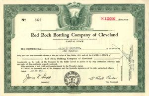 Red Rock Bottling Company of Cleveland