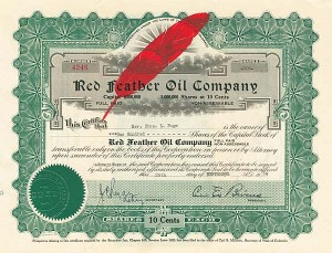 Red Feather Oil Company
