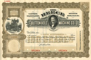 Reece Button Hole Machine Co. - SOLD