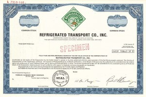 Refrigerated Transport Co., Inc.