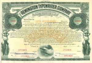 Remington Typewriter Company - SOLD