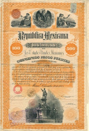 "Republic of Mexico aka ""Christopher Columbus"" - PRICE ON REQUEST"
