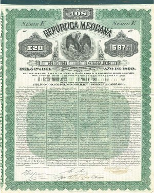 """Mexicana Green"" Republica Mexicana - PRICE ON REQUEST"