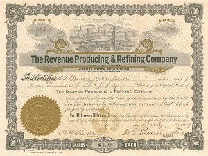 Revenue Producing & Refining Co - SOLD