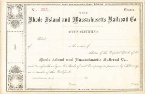 Rhode Island and Massachusetts Railroad Co.