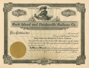 Rock Island and Dardanelle Railway Co.