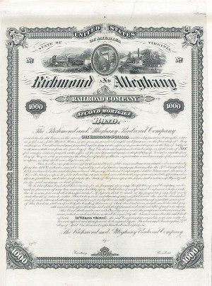 Richmond and Alleghany Railroad Company