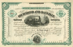 Richmond and Danville Railroad Company