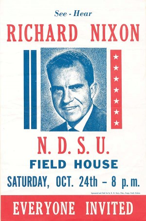 Richard Nixon Poster - SOLD