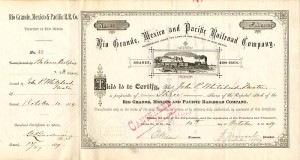 Rio Grande, Mexico and Pacific Railroad Company