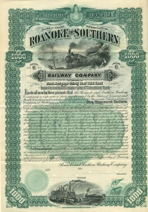 Roanoke and Southern Railway Company - SOLD