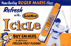 Roger Maris Ad Poster - SOLD