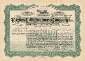 Rogers Milk Products Company, Inc.
