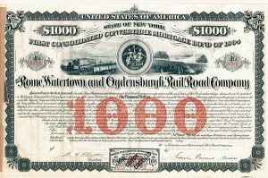 Rome, Watertown & Ogdensburgh Railroad