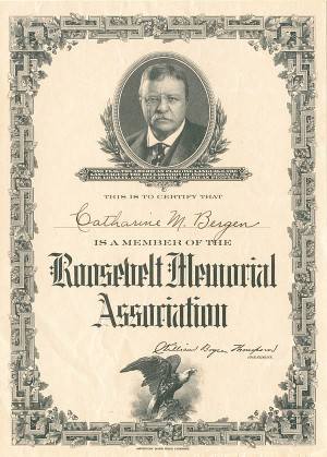 Roosevelt Memorial Association - SOLD