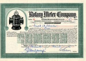 Rotary Meter Company - SOLD