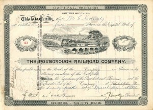 Roxborough Railroad Company - SOLD