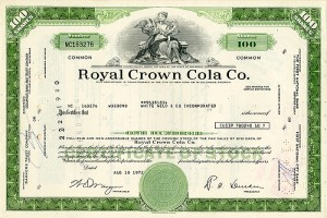 Royal Crown Cola Co. - SOLD