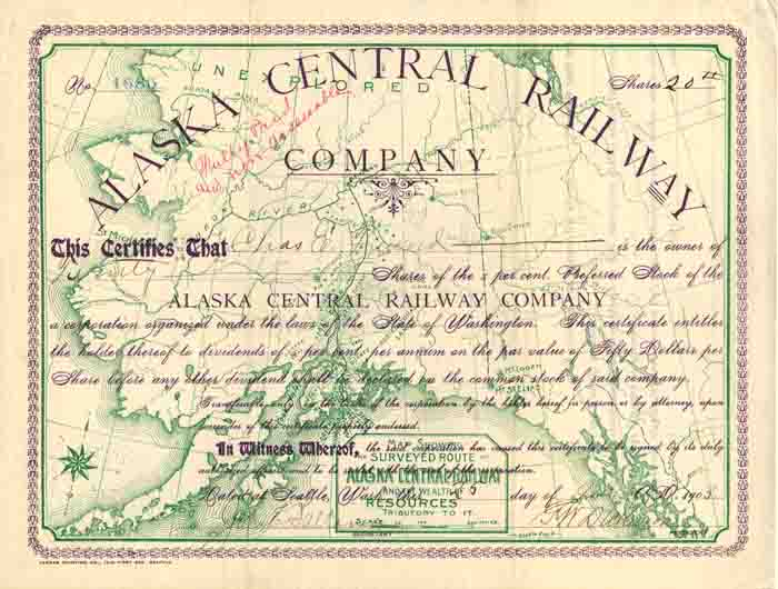 Alaska Central Railway Company