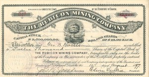 Rubicon Mining Company - SOLD