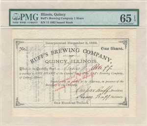 Ruff's Brewing Company, Quincy, Illinois - SOLD