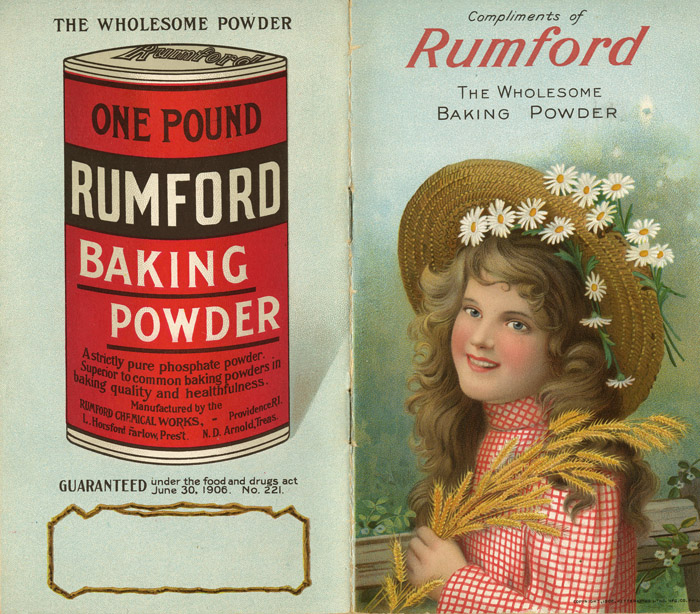 Rumford Wholesale Baking Powder Booklet