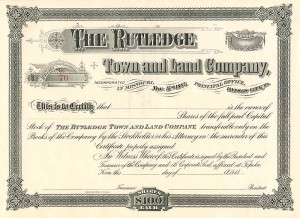 Rutledge Town and Land Company